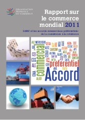 Rapport commerce mondial  2011 omc