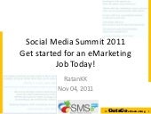 Get started for an eMarketing Job T...