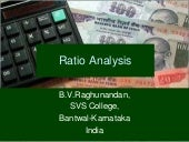 Ratio Analysis-B.V.Raghunandan