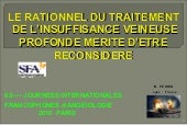 Rationnel Du Traitement Ivp