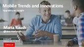 Mobile Trends and Innovations