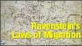 Geography - Ravenstein's Laws of Migration