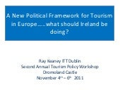 Tourism Policy in Europe and Implic...