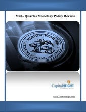 RBI MONETARY POLICY REVIEW Special ...