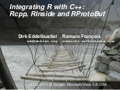Integrating R with C++: Rcpp, RInsi...