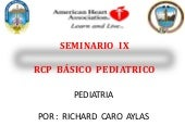 Rcp pediatrico 2013 - 2