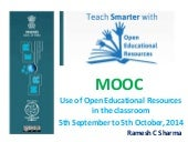 OER MOOC: Use of Open Educational Resources in Classroom