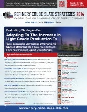 Refinery Crude Slate Strategies 201...