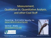 Measurement, Quantitative vs. Quali...
