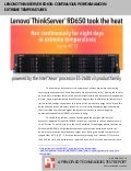 Lenovo ThinkServer RD650: Continuous performance in extreme temperatures