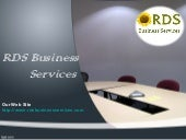 Rds business services - Conference ...