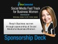 Reach Business Women Through Sponsorship of Social Media