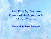 Reaction time ppt