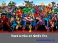 Read comics on kindle fire