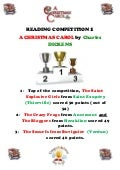 Reading competition results Christmas 2012