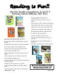 2nd grade Reading Recommendations: Fall 2014