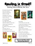 5th grade Reading Recommendations: Fall 2014