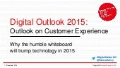 Why the humble whiteboard will trump technology in 2015