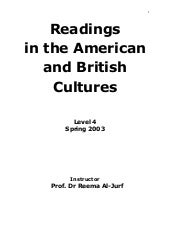 Readings in american and british cu...