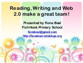 Reading Writing and Web 2.0 make a ...