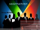 Ready made negotiations