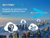 Realizing the Potential of the Intelligent Business Cloud