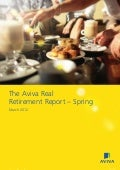 [ARCHIVE] Aviva Real Retirement report, March 2012