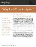 Why Real-Time Analytics?