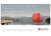 Real Time Analytics with Apache Cassandra - Cassandra Day Berlin