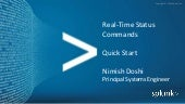 Real-Time Status Commands