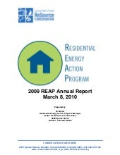 Annual Report, REAP