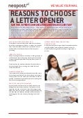 Why Use Automatic Letter Openers