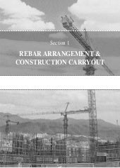 Rebar arrangement and construction ...