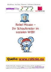 Rebel Mouse - Ihr Social-Media-Scha...