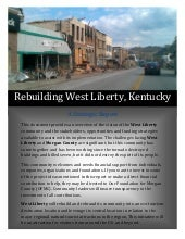 Rebuilding West Liberty Strategic R...