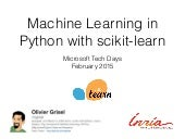 Scikit-Learn: Machine Learning in Python