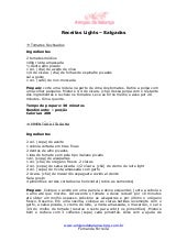 Receitas Lights Salgadas