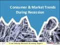Consumer and Market Trends during Recession - Cross Industry Research Report by TrendsSpotting.com