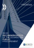 OECD Recommendation on Public Procurement - 2015