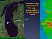 Reconstructing Water Levels in the Lake Michigan Basin from Embayed Lakes