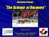 Recovery- Doug Stacey CSTS March 2011