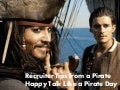Recruiter Tips from a Pirate - Happy Talk Like a Pirate Day