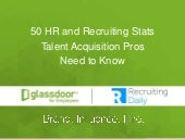 50 Recruiting Stats Every Talent Acquisition Pro Needs to Know