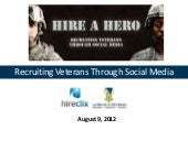 Recruiting veterans - HireClix -soc...