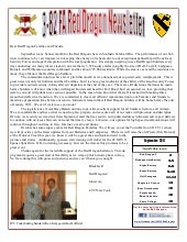 Red Dragon Newsletter October 2011