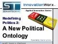 Redefining Politics 2 - A New Political Ontology