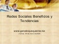 Redes Sociales Beneficios Y Tendencias
