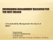 Redesigning management education fo...