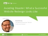 Avoiding Disaster: What a Successful Website Redesign Looks Like