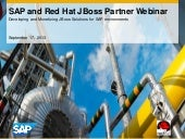 SAP and Red Hat JBoss Partner Webinar